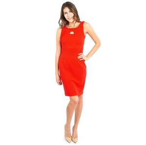 Joseph Ribkoff Great Knit Fitted Cocktail Dress,8